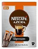 Nescafé Azera Tipo Espresso, Caffè Istantaneo con Chicchi di Caffè Macinati, 25 Sticks, 12338452