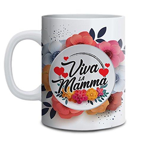 Tazza mug idea regalo festa della mamma viva la mamma mommy