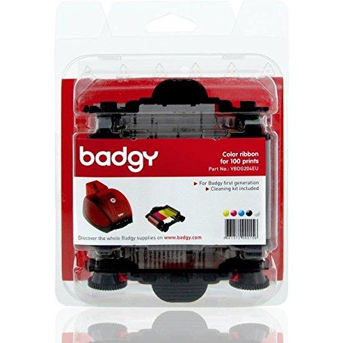 evolis-ribbon-cleaning-kit-badgy-100p-printer-ribbons-black-blue-pink-white-yellow-badgy-badgy-blist