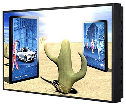 HYUNDAI D551MLH 139,7cm 55Zoll TFT LCD PublicDisplay IPS 16:9 FullHD WUXGA VGA HDMI RS232C 4.000:1 2.500cd 10ms metal frame schwarz Hyundai Hdmi-monitoren