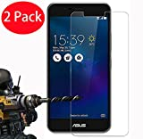 2 Pack - Asus Zenfone 3 Max ZC520TL Verre Trempé, Vitre Protection Film de protecteur d'écran Glass Film Tempered Glass Screen Protector Pour Asus Zenfone 3 Max ZC520TL (5.2')
