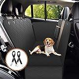 OMORC Hundeschutzdecke, OMORC Wasserdichte Kofferraumschutz mit freiem Geschenk,  Kofferraumdecke mit Atmungsaktive Mesh-Sichtfenster und Aufbewahrungstaschen