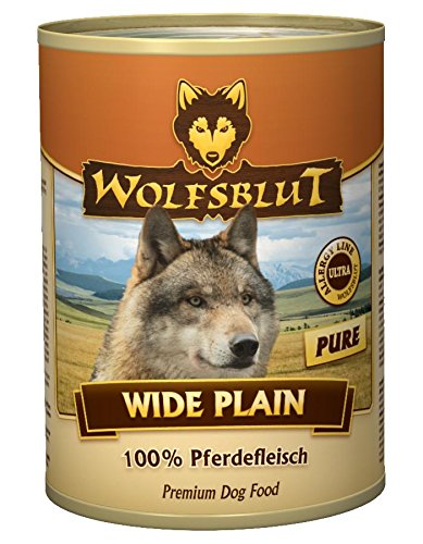 Wolfsblut Dose Wide Plain PURE 12x395g