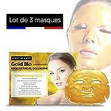 First Beauty Pack di 3maschere viso collagene/antirughe/anti-ridules Oro
