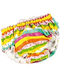 fashy Baby Girls'Swimwear Nappy Multi-Coloured multicoloured