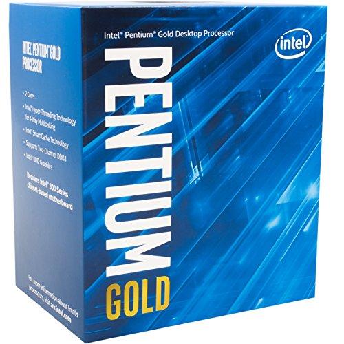 Pentium Gold G5400 3.7GHz 4MB Caja procesador