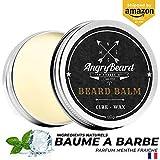 Baume pour barbe (60ml) | Soin pour homme | Aide à sculpter votre barbe et réduits les frisottis, Adoucit la Barbe, Crème Nutritive et Adoucissante pour la Barbe