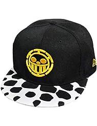 Tongshi Bordado de la manera Snapback Boy Hip Hop ajustable del sombrero gorra de béisbol unisex (Amarillo)