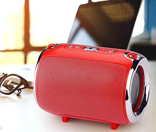 Lnyy Tragbare Schulter Gurt Bluetooth Lautsprecher Handy Wireless Karte Outdoor Subwoofer Computer Mini Audio 138x127x101mm - 138 Handy