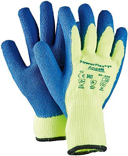 Ansell Handschuh PowerFlex 80-400HiViz gelb (VE = 12Paar Gr. informarme -