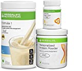 #7: Herbalife formula 1(Kulfi) with Personalized Protein Powder(200gm)+Afresh(Lemon)
