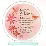 stealstreet Mom und Me Inspirierende Glas Kreis stehend - Best Reviews Guide