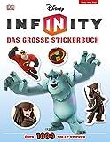 Disney Infinity Das große Stickerbuch: über 1.000 tolle Sticker