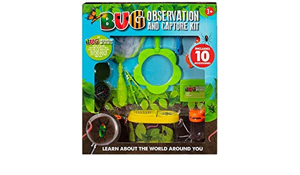 A2Z Home Solutions Adorable Gift For Kids Insects Bug Observation /& Capture Kit
