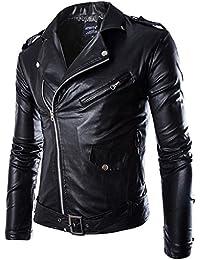 Amazon.fr   blouson simili cuir - Homme   Vêtements cf339636df9c