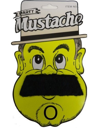 FDC verschiedene falsch Falscher Schnurrbart Kostüm Verkleidung Zubehör - Deluxe Schnurrbart Typ (Fd Kostüm Ltd)