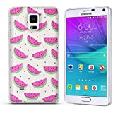 Funda Samsung Galaxy Note 4 - Fubaoda - 3D Realzar, Dibujos animados Patrón, Gel de Silicona TPU, Fina, Flexible, Resistente a los arañazos en su parte trasera, Amortigua los golpes, funda protectora anti-golpes para Samsung Galaxy Note 4