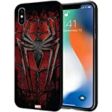 CellKraft Licensed Marvel Spider Man Hard Back Case Mobile Cover for Apple iPhone Xs Max (Multicolour)