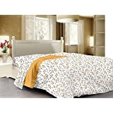 3D Home Design Premium Cotton Reversible Doublebed Dohar/Quilt Cover/Rajai Cover - 90 X 100 With Zip