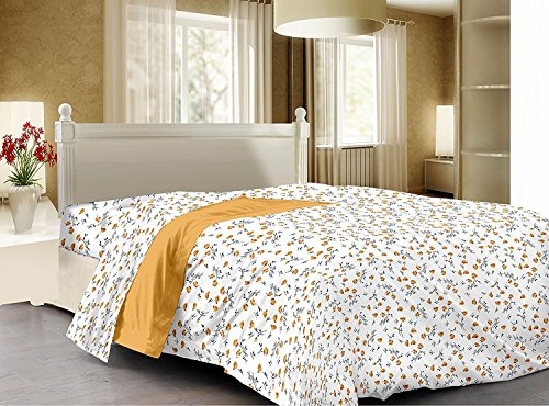 3D Home Design Premium Cotton Reversible Doublebed Dohar/Quilt Cover/Rajai Cover - 90...