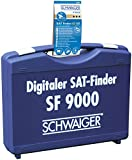 Schwaiger digitaler Profi Satelliten-Finder schwarz