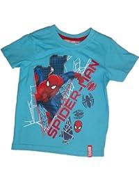 Marvel Spiderman T-Shirt Blau, Grau oder Hellblau in den Gr. 98, 104, 116, 128