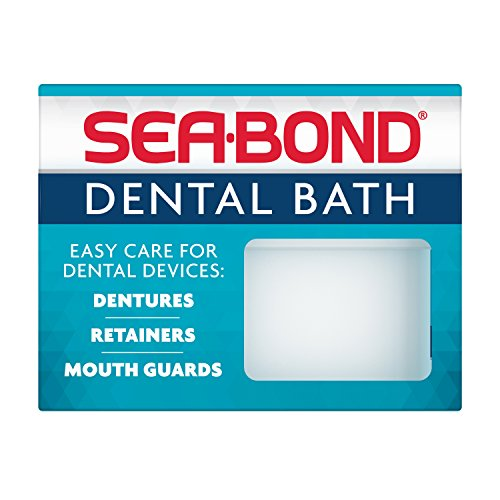 Sea-Bond Denture Bath, Colors May Vary by Sea-Bond