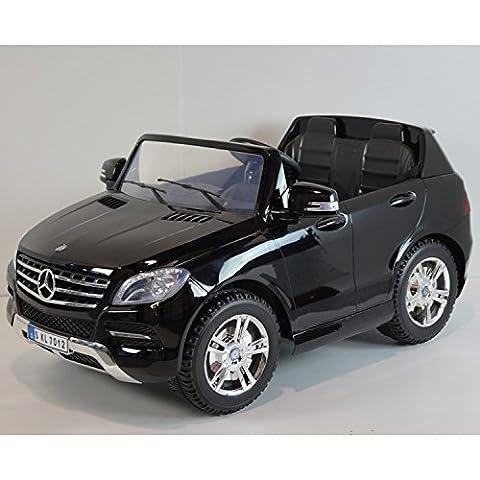 Mercedes ML350 CDI Noir Métallisée, 2 places, voiture électrique enfant,