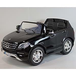 mercedes ml350 cdi noir m tallis e 2 places voiture lectrique enfant 12v7ah 2 moteurs. Black Bedroom Furniture Sets. Home Design Ideas