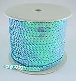 Pailletten Band türkis 6mm breit und