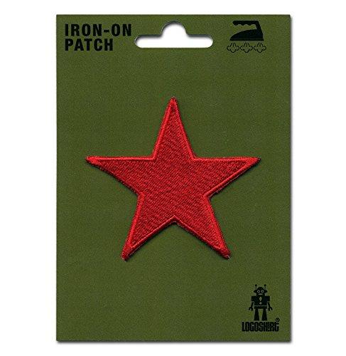 Roter Stern Aufnäher - Symbol Patch - Red Star Aufbügler - Lizenziertes Originaldesign - LOGOSHIRT
