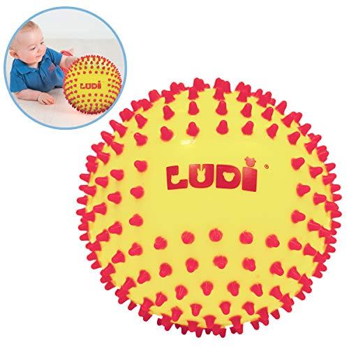 Ludi-30018-Ball sensorischen-Zweifarbig -