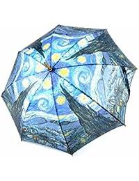 Paraguas arte: La noche estrellada de Van Gogh
