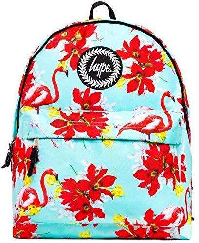 hype, Unisex Rucksack Mehrfarbig Mint Flamingo Einheitsgröße