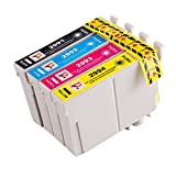 Picture Of PerfectPrint Compatible Ink Cartridge Replacement for Epson XP-442 XP-342 XP-245 XP-247 XP-445 XP-345 T2996 (Black/Cyan/Magenta/Yellow, 4-Pack)