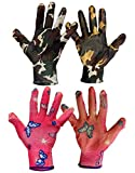 TIED RIBBONS 2 Pairs Gloves for Gardening for Men Women