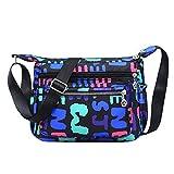 Neue beiläufige Nylonhandtaschen Arbeiten leichte diagonale Handtaschen der großen Kapazität Art und Weise frische Wilde einzelne um
