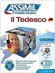 """Deutsch für Italiener. Deutschkurs in italienischer Sprache. Niveau A1 - B2. 180 Min.Broschiertes SchulbuchDeutschkurs in italienischer Sprache, Lehrbuch (Niveau A1-B2) + 4 Audio-CDs""""Il Tedesco"""" ist der richtige Selbstlernkurs sowohl für Lerner, die ..."""
