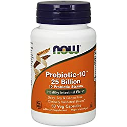 Now Foods Probiotic-10, 25 Billion 50 Vcaps