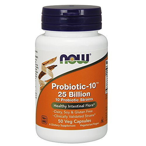 NOW Foods Probiotic-10, 25 Billion