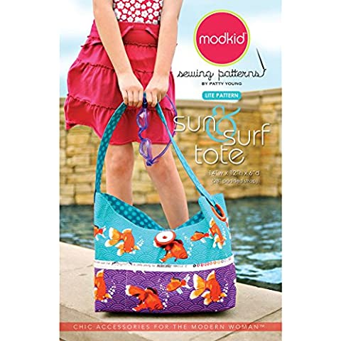 Modkid Sewing Patterns, Sun and Surf Tote by ModKid - 2010 Wilton Yearbook