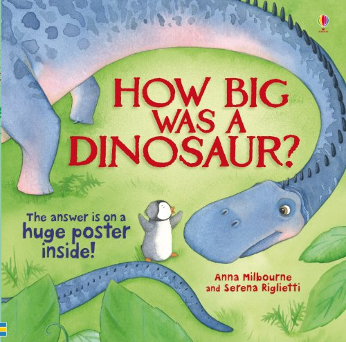 How Big Was A Dinosaur (Picture Poster Books)