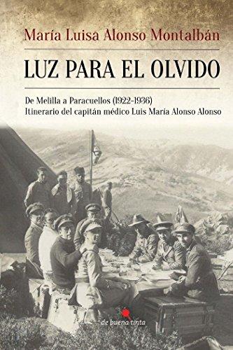Luz para el olvido por María Luisa Alonso Montalbán