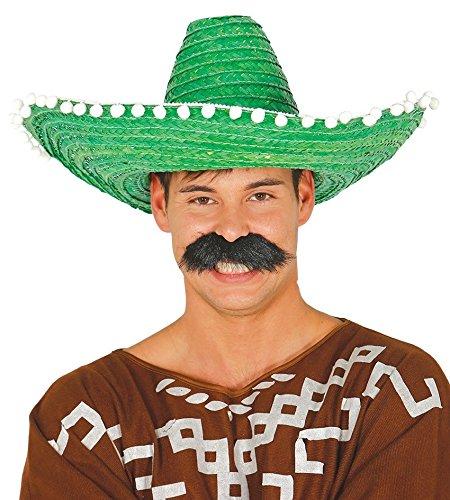 Guirca Sombrero de Mexicano con Borlas en varios colores de 50 cm 02c1926633e