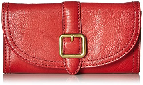 FRYE Claude Wallet, Red, One Size
