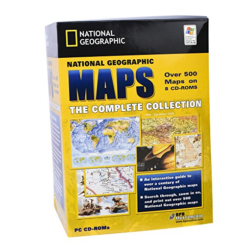National Geographic Maps - 8 CDs