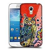 Head Case Designs Ufficiale Mad Dog Art Gallery Civetta Animali Cover Retro Rigida per Samsung Galaxy S4 mini I9190