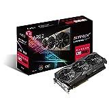 ASUS Carte Graphique AREZ-STRIX-RX580-O8G-GAMING (OC Édition, AMD Radeon RX 580, 8Go Mémoire GDDR5)