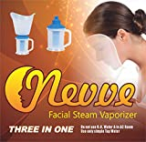 Nevve Facial Sauna, Vaporiser and Nose Steamer 3 in 1 Steam Inhaler