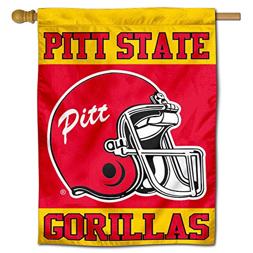 College Flags and Banners Co. Pitt State Banner House Flagge